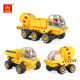 Wange Educational Construction Building Block Bricks Toy Cement Mixer Truck Plastic Block Sets For Wholesale