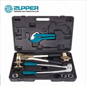 FT-1240 Manual Pipe Fitting tools Expanding Tool Set with cutter and crimper