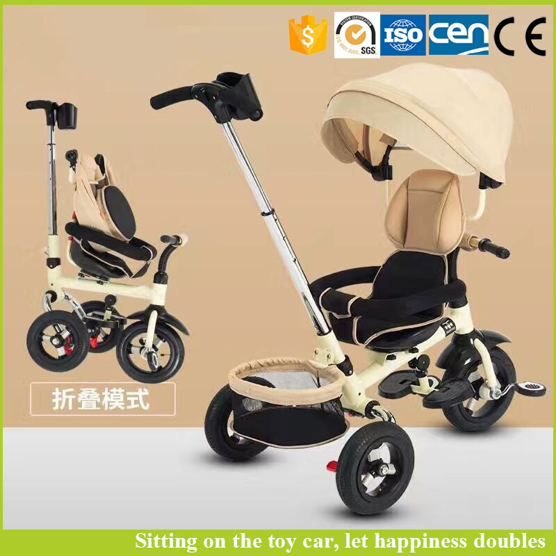 Baby toys cars 2016 parts push car luxury pedal tricycle royal baby bicycle
