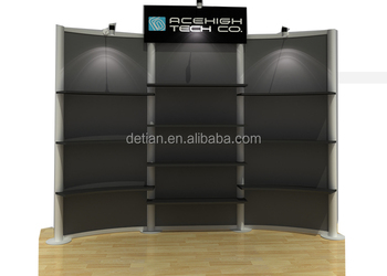 Small Expo Stands : Small package stand expo exhibition design made of portable