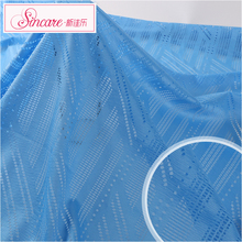 Knit Jacquard Cheap Soft Mesh Sportswear Fabric For Swimwear
