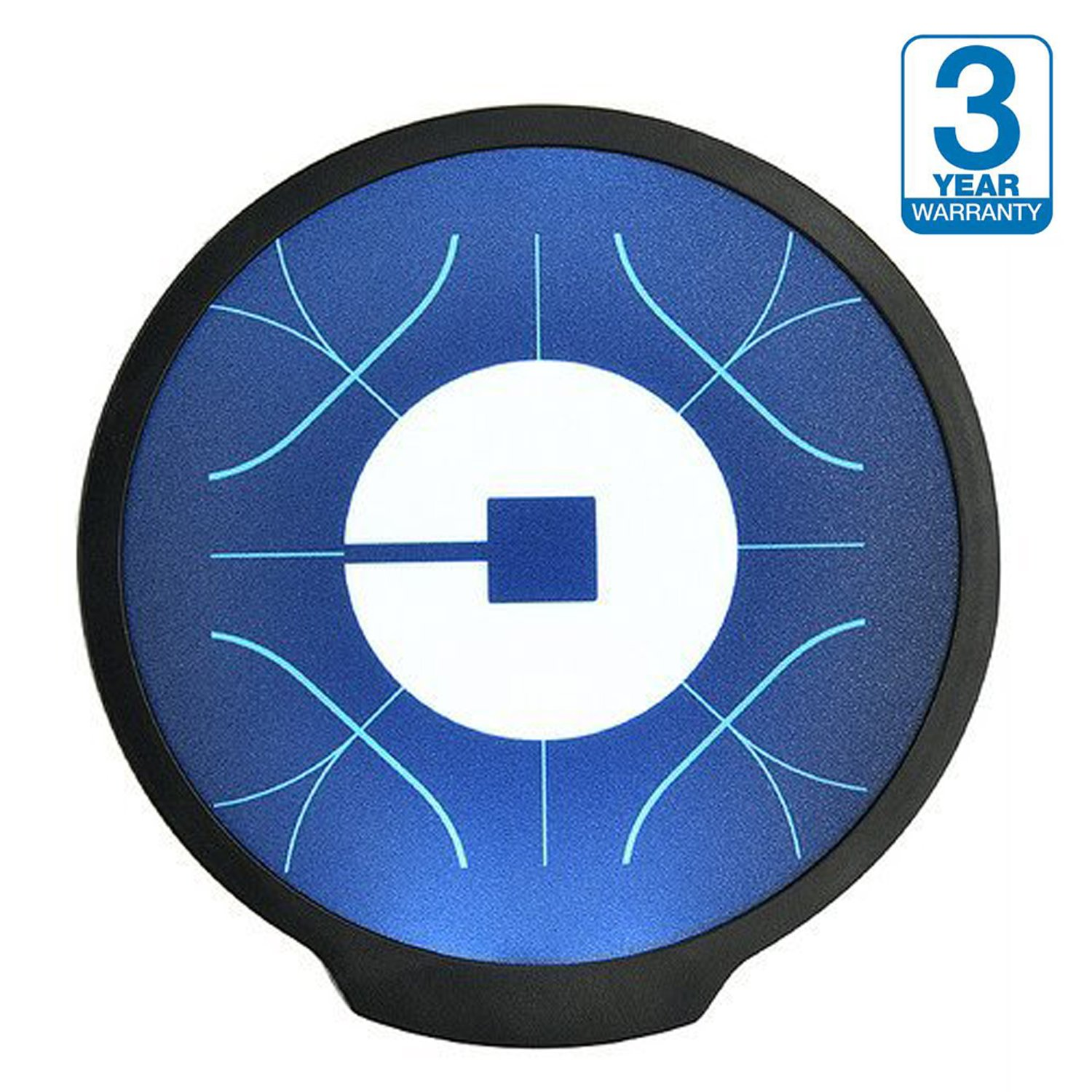 Get quotations · uber sign led light logo sticker decal glow wireless decal accessories removable uber lyft logo glowing