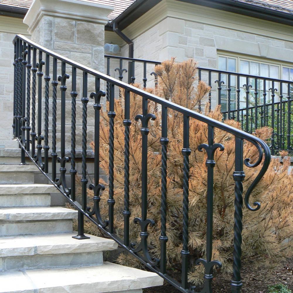 Galvanized Cable Railing / Iron Balcony Railings Designs ...