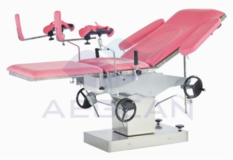 AG-C306 portable hospital gynecological delivery table for examination
