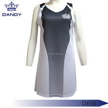 100% polyester digital print Girl Netball Dress Uniform ,Tennis Dress
