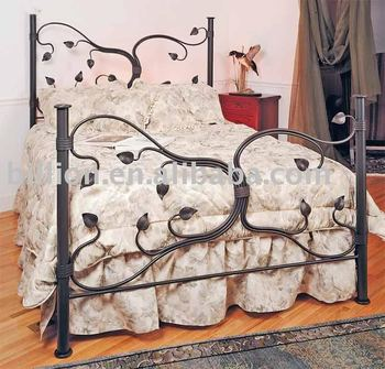 wrought iron bed headboard