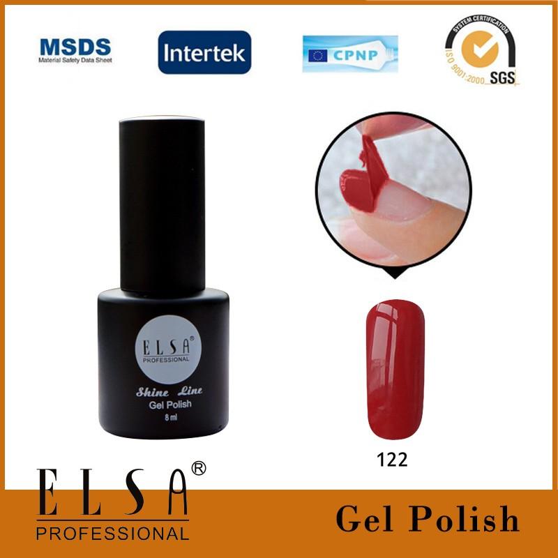 Elsa Low Price Led/uv Lamp Color Gel Nail Polish,8 Ml Three Step Uv ...