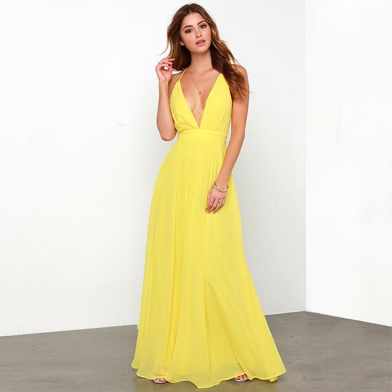 cd4b404a462f3 Turmec » plus size backless halter top maxi dresses