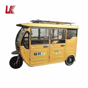 enclosed electric rickshaw for sale/3 wheel electric bicycle passenger taxi/auto rickshaw with 6 passenger seats low price