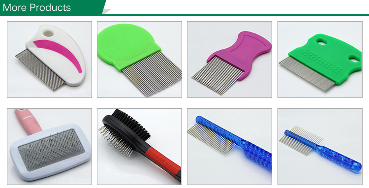 High Quality Best-Selling Stainless Steel Needle Lice Comb Pet Flea Comb