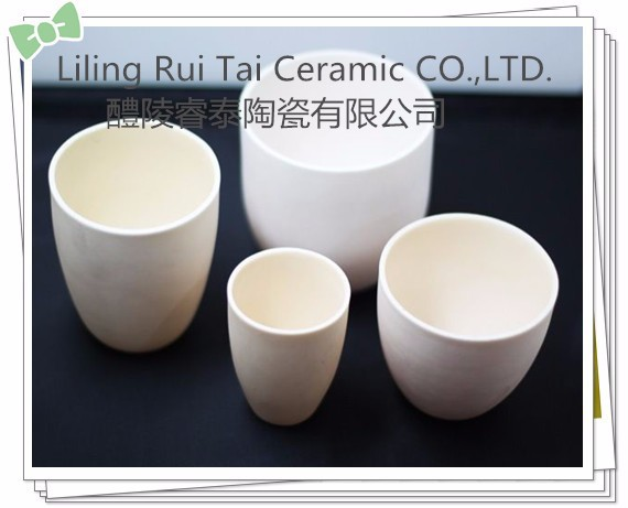 Refractory alumina boats/ ceramic crucibles for lab testing