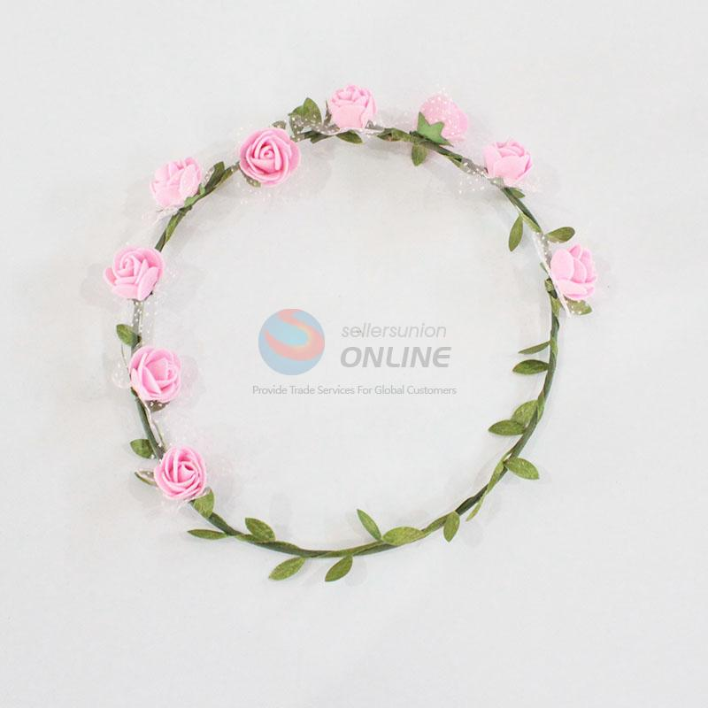 High quality artificial hawaiian lei,hawaii flower lei