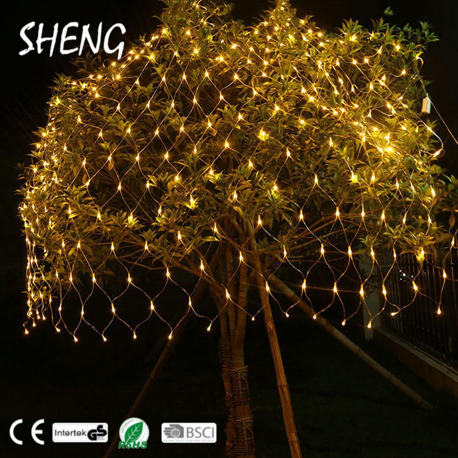 SHENG-NE-004 Micro LED String Licht Decoratie Kerstboom Netto Verlichting voor Evenementen