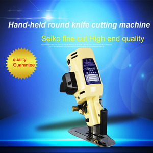 100mm industrial Electric scissors / Round knife cloth cutting machine for garment textiles300W