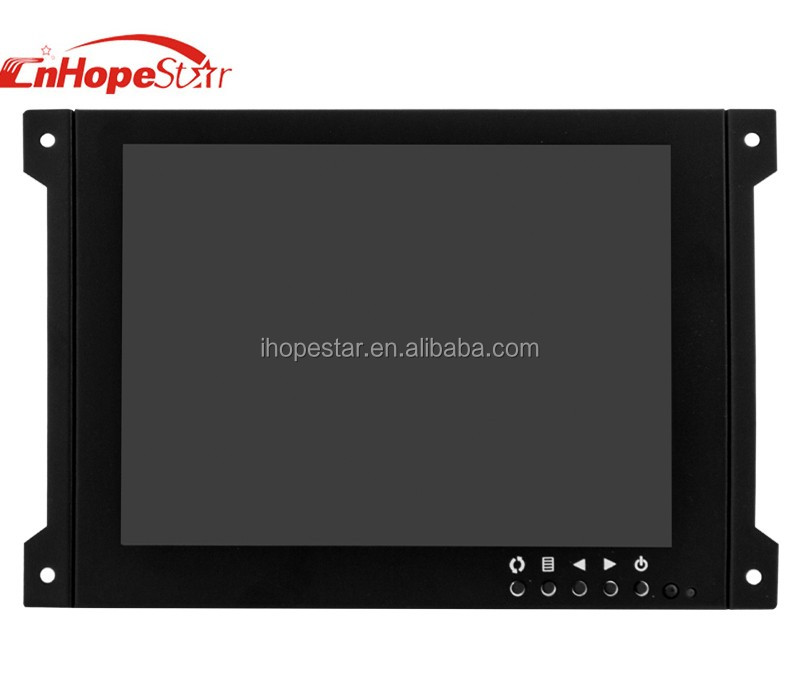"Kiosk Touch Screen Monitor 8"" Touch Screen Monitor 8 Inch LED Open Frame Computer Monitor"