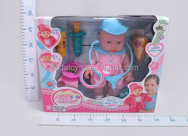 12 inch amber doll with potty,kids medical doll with ic in bulk, reborn dolls toys for sale