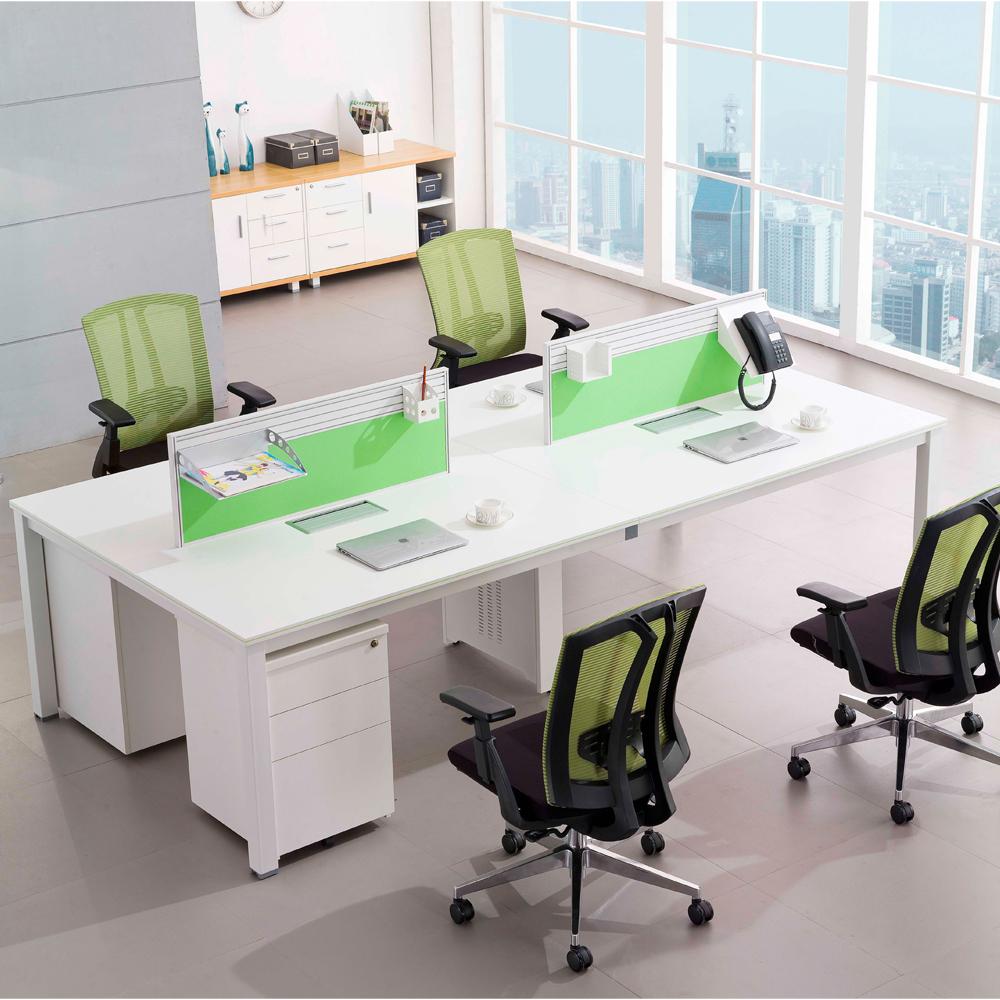 Modern Commercial Office Furniture 36 Seater Frame Leg Office Desk