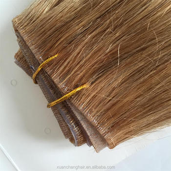 Hand Tied Hair Extensions Double Drawn Skin Pu Weft Human Hair - Buy ... 0930dd4bdb4c