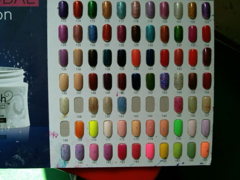 Hg-010 233 Colors Uv Led Gel Nail Polish Uv Gel Type Free Acrylic ...