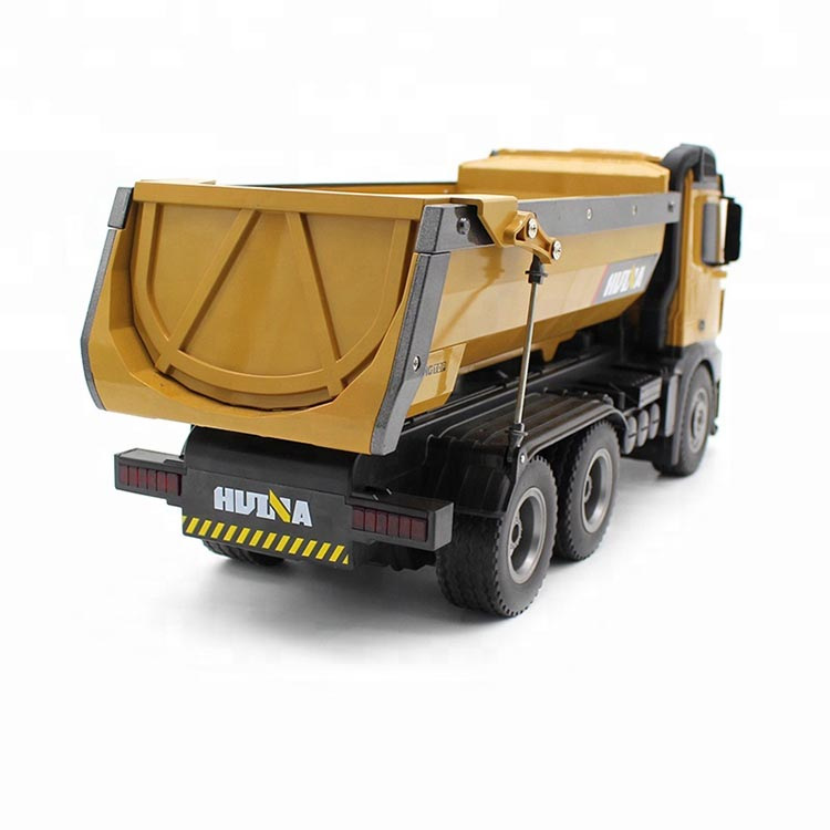 RC Dump Truck self-discharging for sale Newest arrival Presell Newest Huina 1573 573 Remote Control PK Huina 1580 1583 Truck