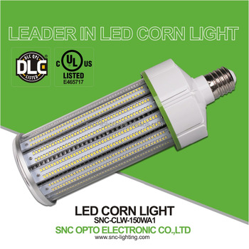 5000k Cct 277 Volts Input 150w Led Corn Light Bulb Dlc Replace Of ...