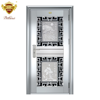 Stainless Steel Front Entry Door Glass Jh530 Buy Front Entry Door