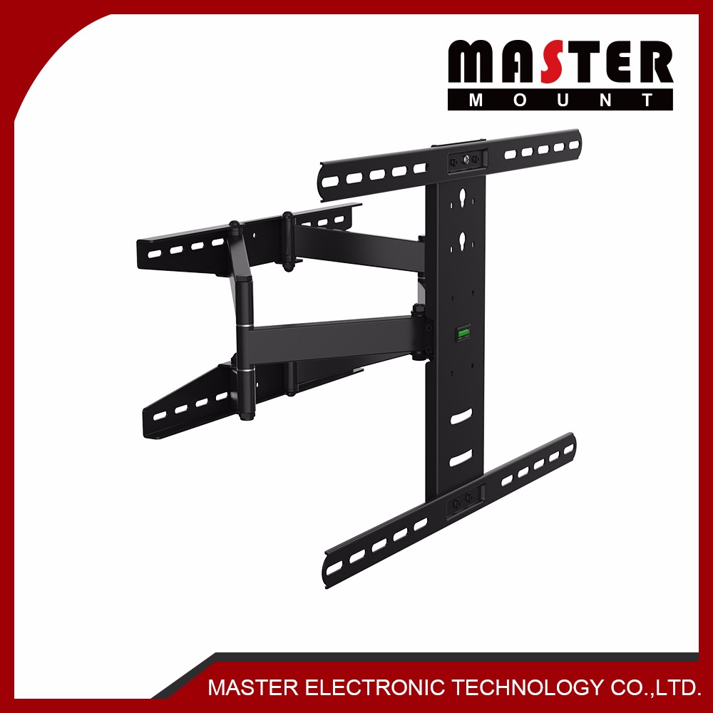 Mobile LCD TV Mount With Metal Construction Brackets Mounts
