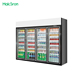 Supermarket commercial display national upright drink refrigerator door