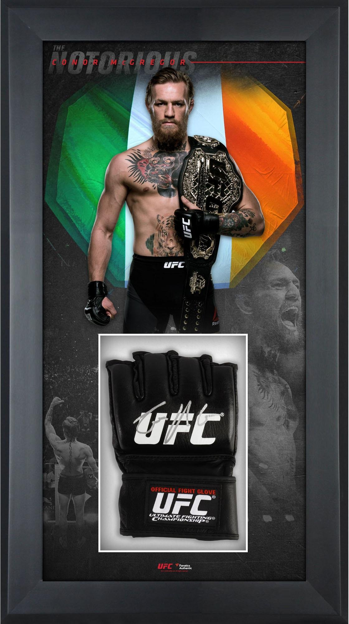 Conor McGregor Ultimate Fighting Championship Framed Autographed Fight  Model Glove Shadowbox - Fanatics Authentic Certified 192db0d0a