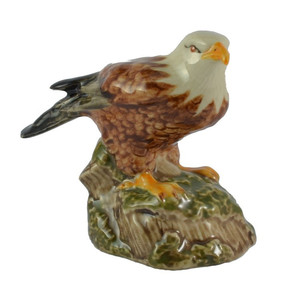 Hot Sale Personalized Handmade Ceramic eagle ceramics figurine