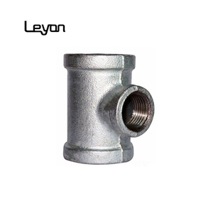 Tsp Galvanized Malleable Iron Pipe Reducing Tee Pipe Plumbing Fittings branch tee fitting y tee reducer pipe fitting