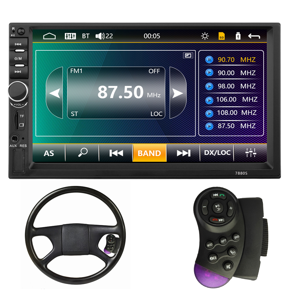 Most Popular Car Stereo Radio DVD <strong>Player</strong> Multimedia <strong>Player</strong> With Apple Mirror Link