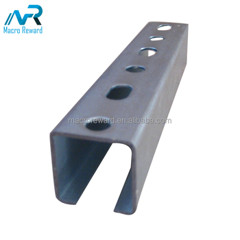 Hot selling galvanized beam stainless steel strut U channel price