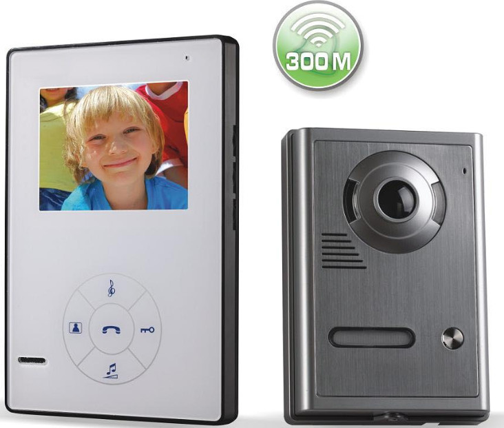 Wireless Video Camera Wireless Video Door Phone Villa Video Intercom System