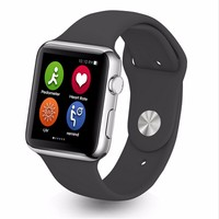 IWO Sport Style Rubber Watchband wireless changer Heart Rate touch screen k88h smart watch