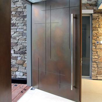Custom Design Good Quality Exterior Stainless Steel Pivot Door Buy