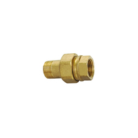 brass fitting water meter connection