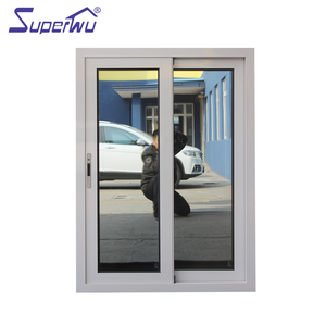 AS2047 standard tinted glass sliding windows and doors with security mesh