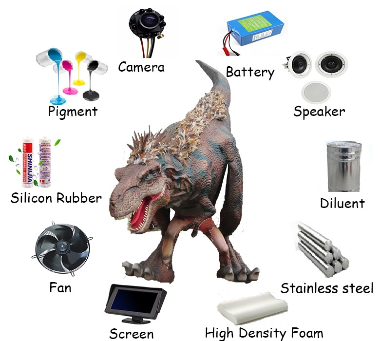 High Quality Realistic Professional Dinosaur Costume