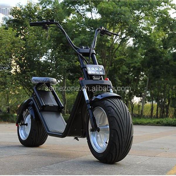 E Drift Electric Fat Tire Scooter Moped 1500w Hub Motor