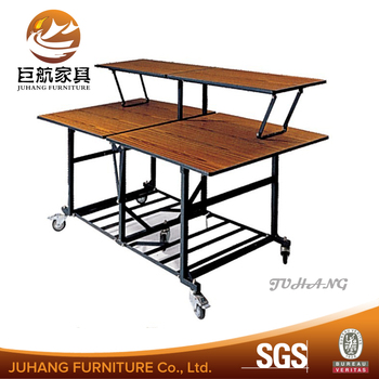 Exceptionnel Wholesale Restaurant Wooden Commercial Foldable Buffet Table