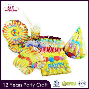 2017 New Style Happy Birthday Chart Paper Craft Decoration Buy