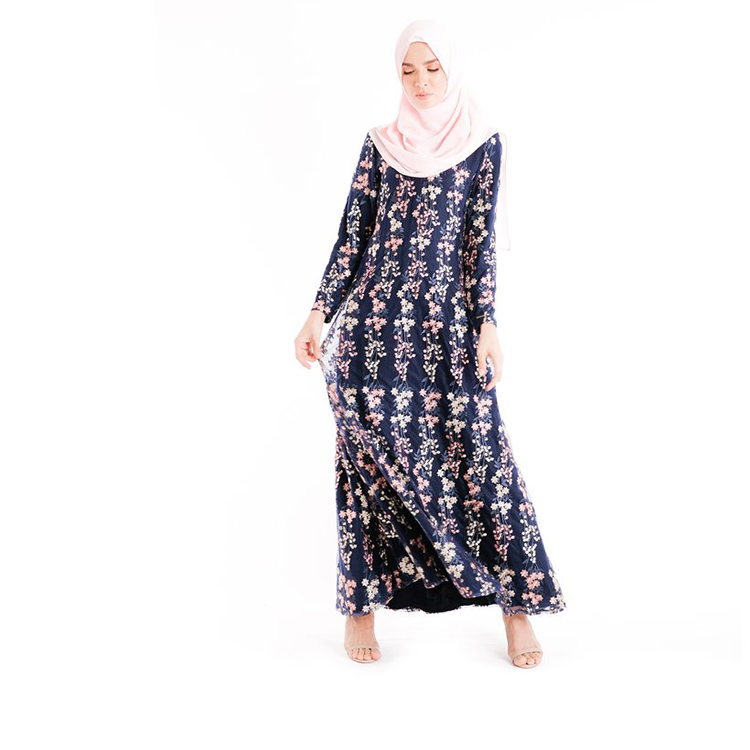 Brand New Baju Kurung And Melayu Abaya Modest Tunic Printed Islamic Clothing Fashion