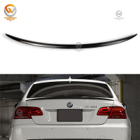 M3 Style Carbon Fiber Rear Trunk lip boot Spoiler For 3 Series E92 Coupe 2 Door 05-11
