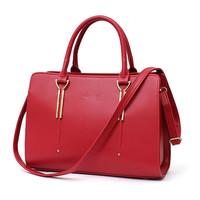 Fashion design xiamen brand handbags women bag PU handbag