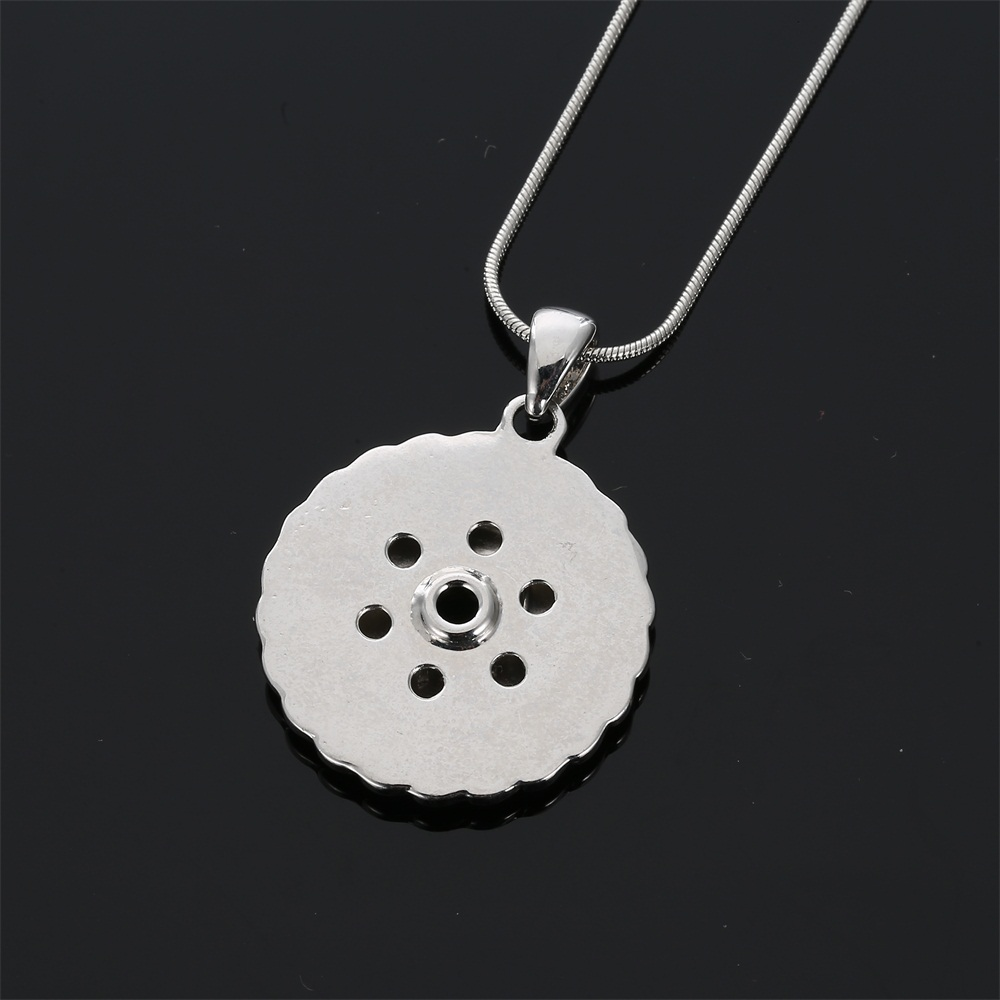 Legenstar Wholesale Price Ear Of Wheat Intercahngeable Snap Button Necklace Rhinestone Snap Jewelry