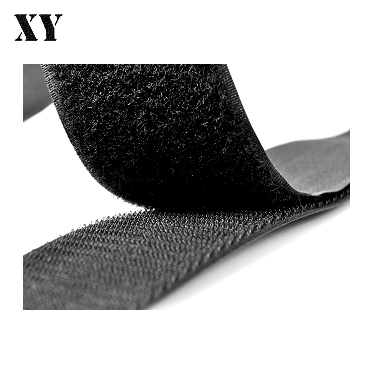 Hot Sell SGS/Rohs Customized Nylon polyester Sewn Hook And Loop Tape