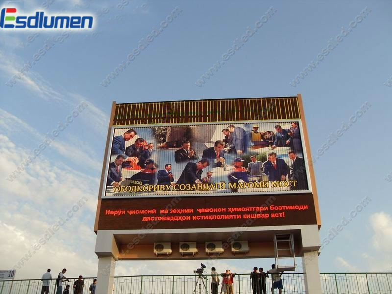 Super hot sale P20 full color advertising Outdoor walking billboard led display