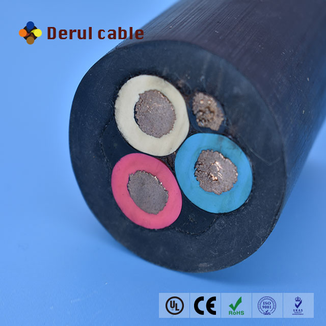Multicore reinforced submersible cable oil pump power cable