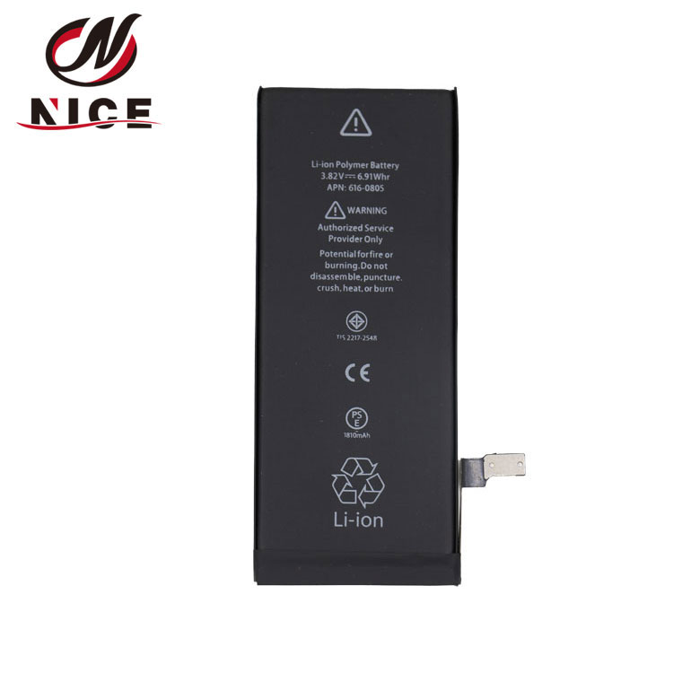 Factory direct High Capacity 1810mah 3.82V Battery For phone 6G